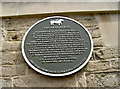 Photo of William Leversedge black plaque