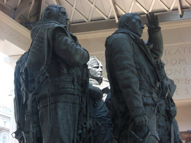 The RAF Bomber Command Memorial at Green Park