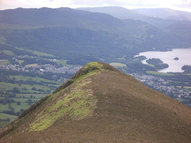 Carsleddam on the descent from Carl Side