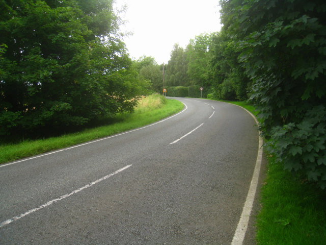 Curve in Newton Road