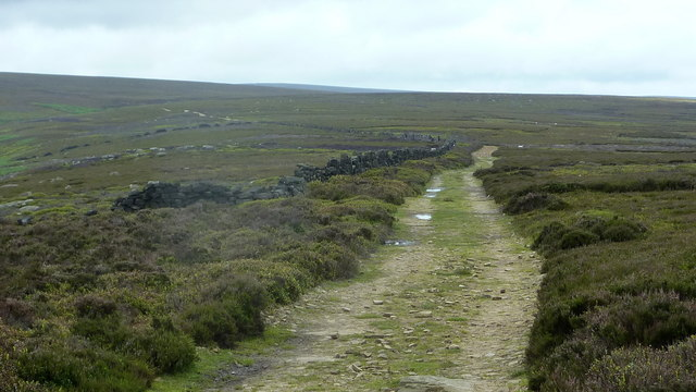 Duke's Road west of Hurkling Edge