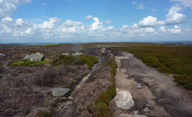 Duke's Road across open moorland