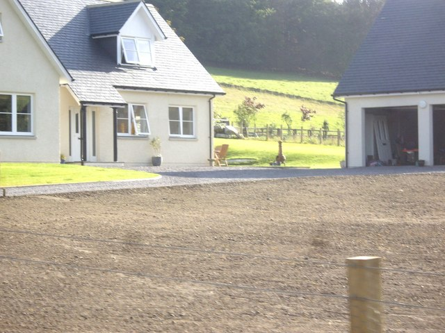 A new build in Milton of Cushnie