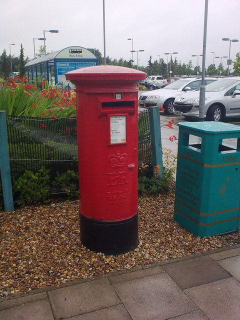 Norfolk & Norwich University Hospital Postbox