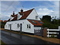 TF7343 : Church Cottage in Thornham, Norfolk by Richard Humphrey