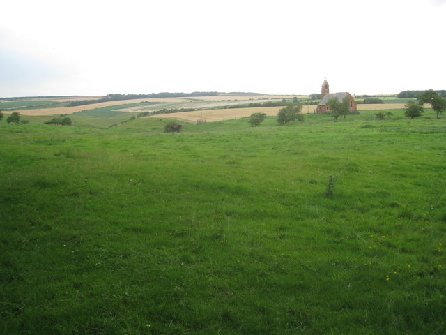 The site of medieval Cottam