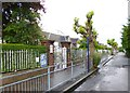 TQ2690 : East Finchley, primary school by Mike Faherty