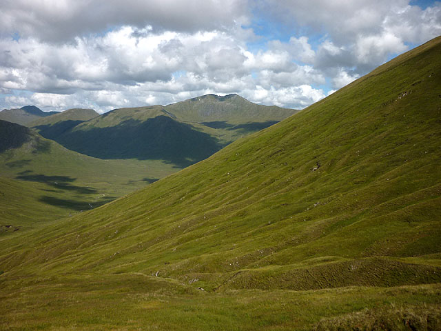 The north flank of Coire Odhar