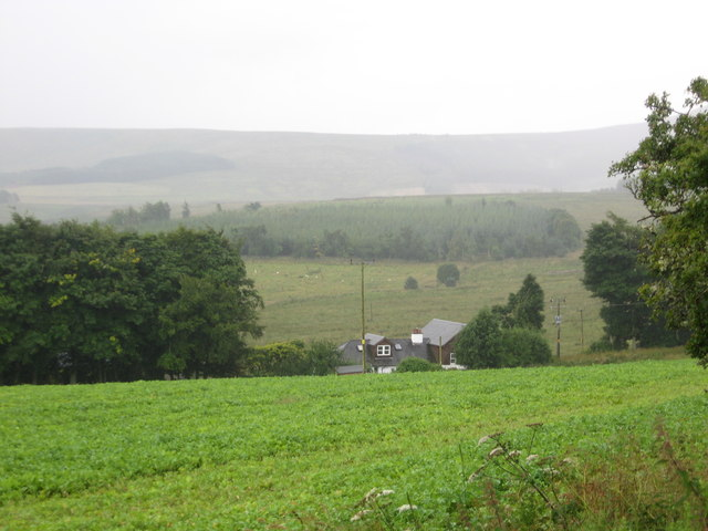 Cottages at Carter View off the A68 south of Jedburgh