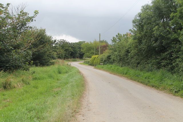 Beesby Walk, near Manor Farm