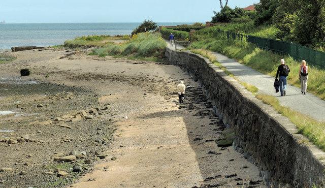 Coastal path, Cultra