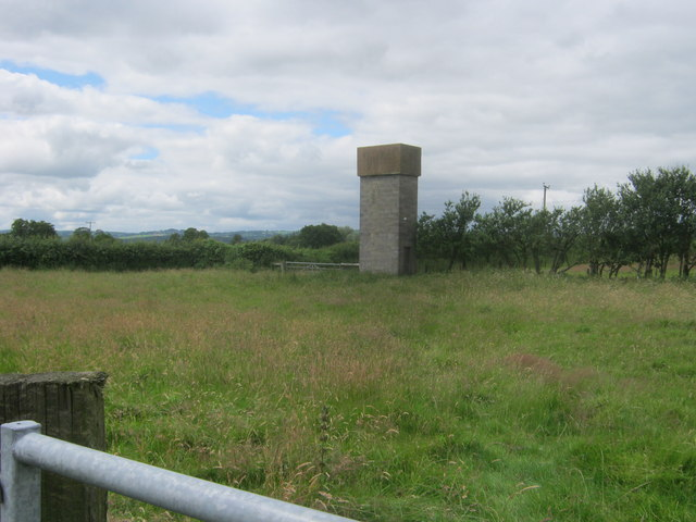 Water storage tower at Willersley