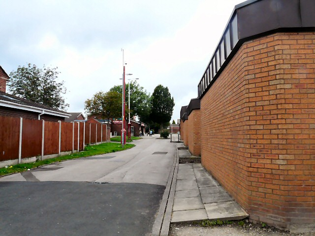 Path to the shops