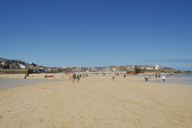 Low tide, St Ives