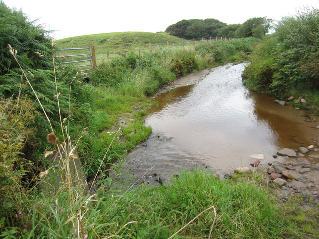 Ford at Burnt Moor