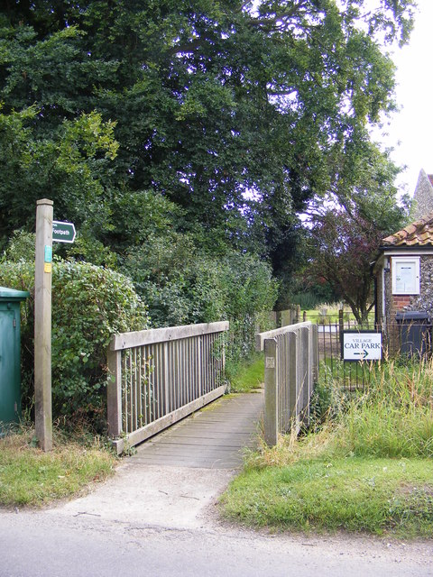 Footpath to Lodge Lane