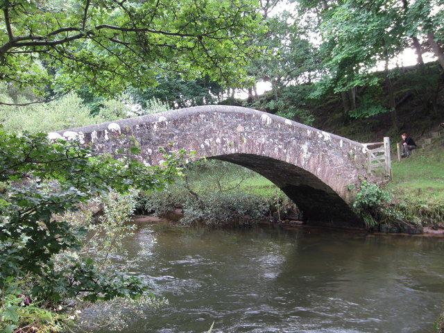 Drigg Holme Packhorse Bridge