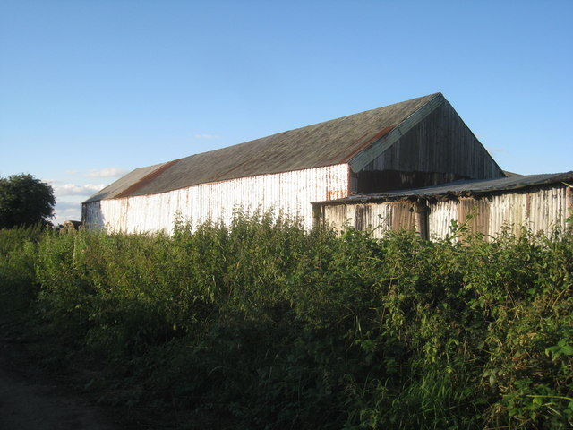 Another corrugated iron shed
