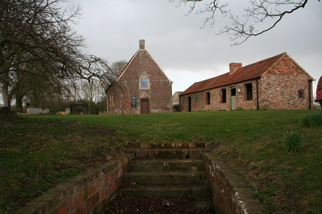 Monksthorpe Baptist chapel and baptistry