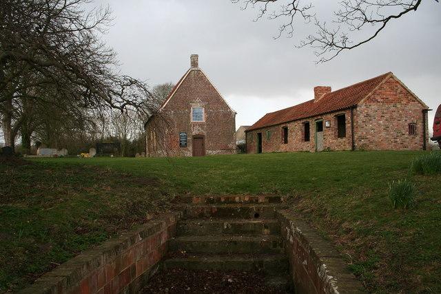 Monksthorpe Baptist chapel and baptistry