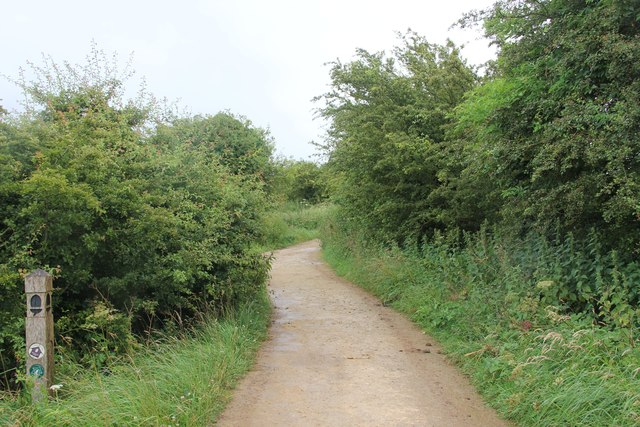 Path along northern edge of Cleeve Hill