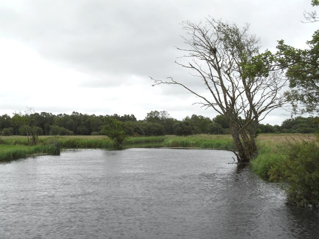 The Camlin River, near Cloondara / Clondra, Co. Longford