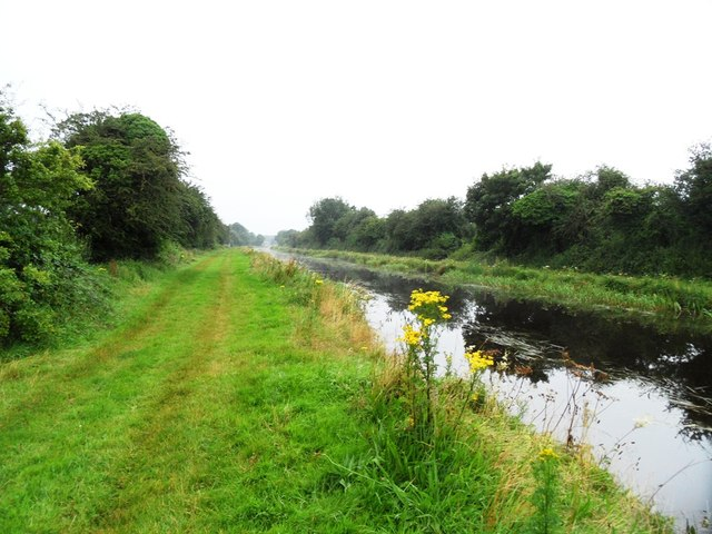 Grand Canal in Kilgortin, Co. Offaly