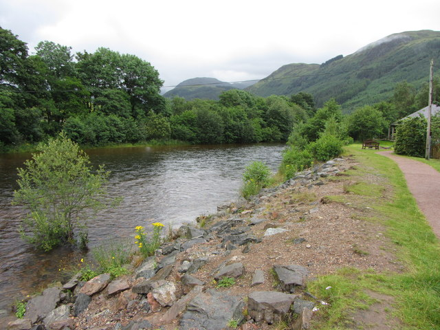 River Nevis near the Visitor Centre