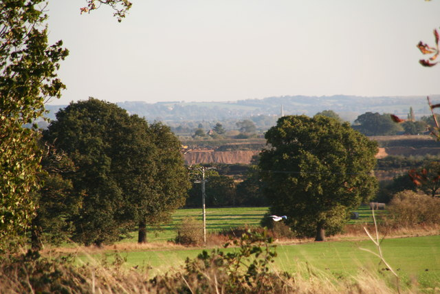 Gravel quarry east of Stapleford Moor