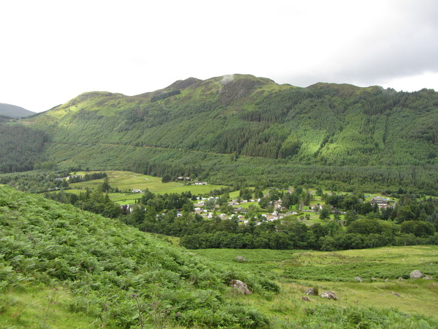 View SW from Ben Nevis path