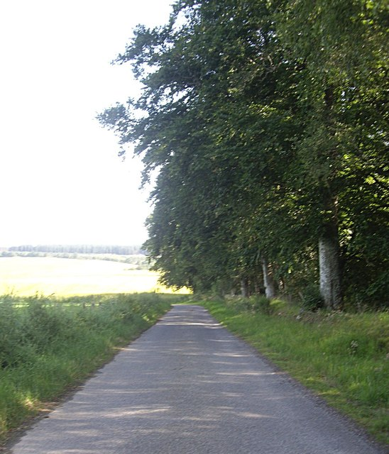 Minor road to Milton of Kildrummy