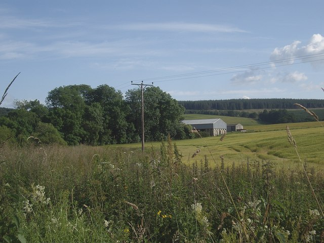 View of Malt Croft from the north