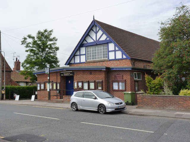 Collingham War Memorial Hall