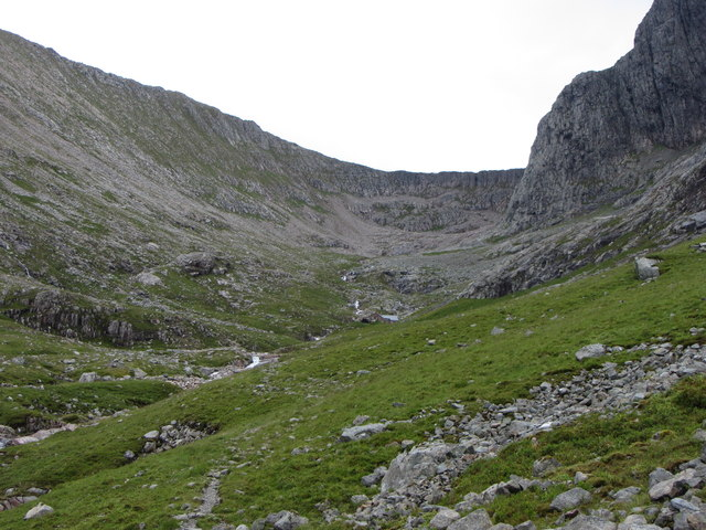 Nearing the CIC Hut, Ben Nevis