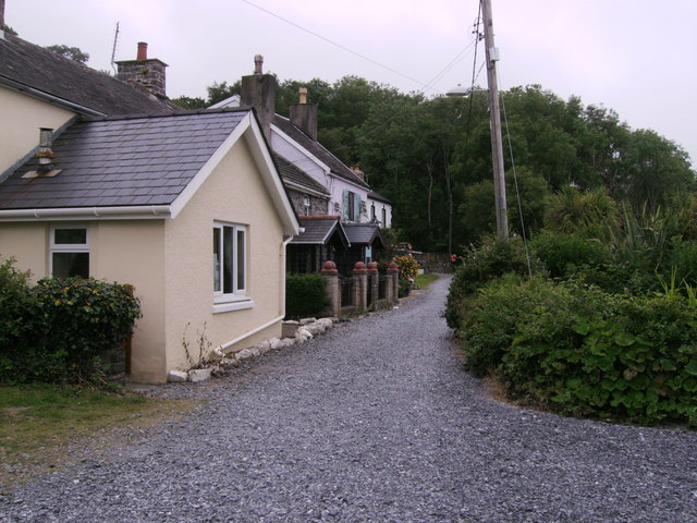 Cottages on Brongwyn Lane