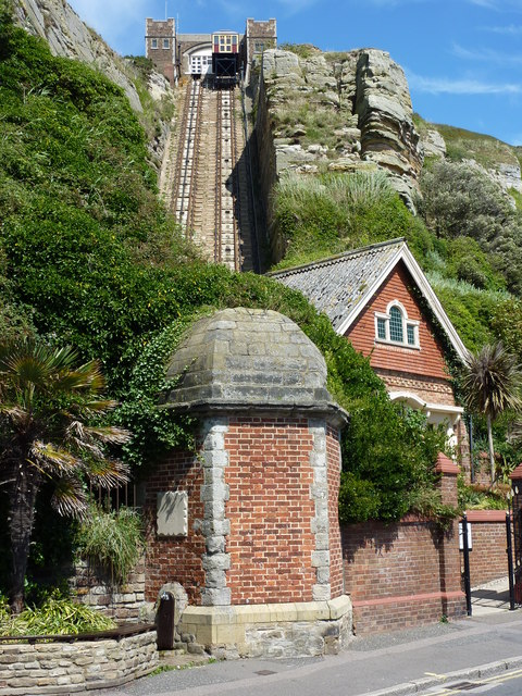 East Hill Lift, Hastings