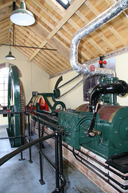 Sherborne Steam and Water Wheel Centre - steam engine