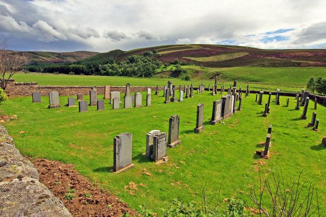 Cemetery near Burnside