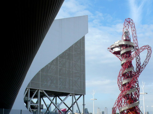 Arcelor Orbit and the Aquatic Centre