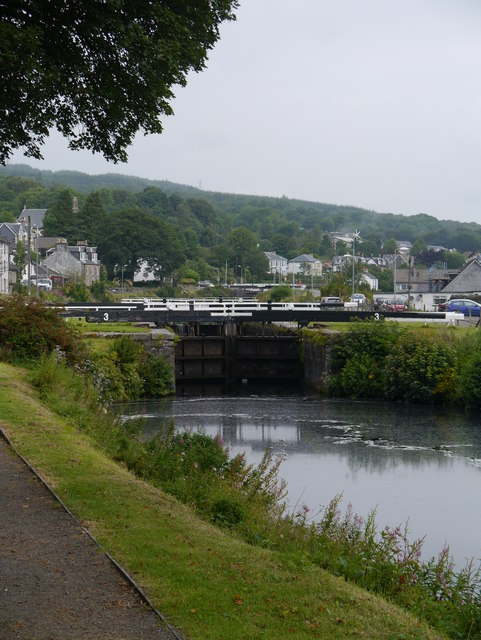 The Crinan Canal: Lock No 3