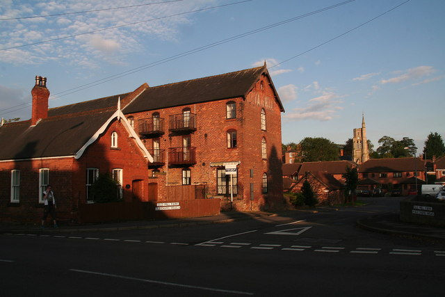 Louth Riverhead, Bryan Hall Mill, and Holy Trinity Church