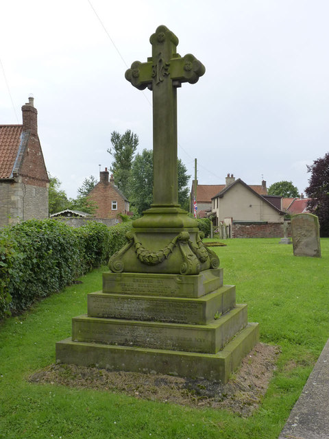 War Memorial, North Scarle