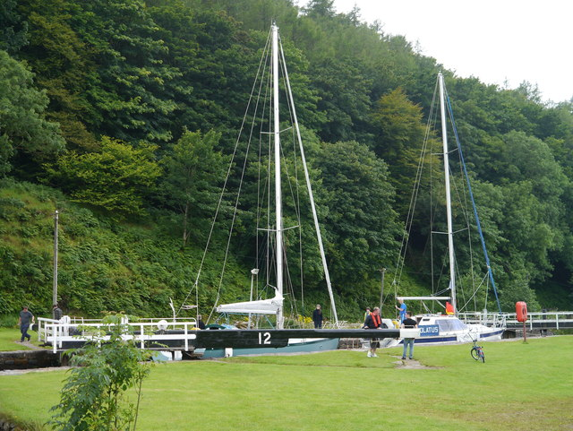 The Crinan Canal: Lock No 12