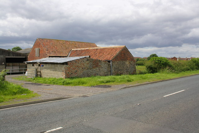 Buildings at Spittal Farm, Thirsk Road