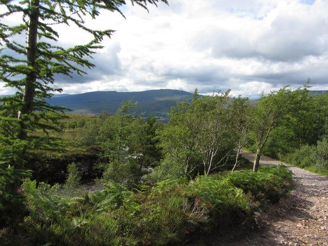North Face Car Park Near Torlundy