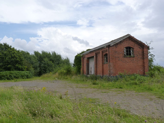Harby Goods shed