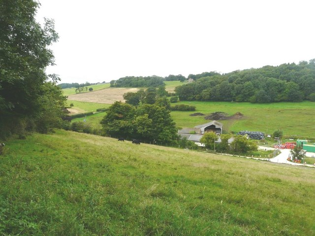 The countryside around Rakesole Farm