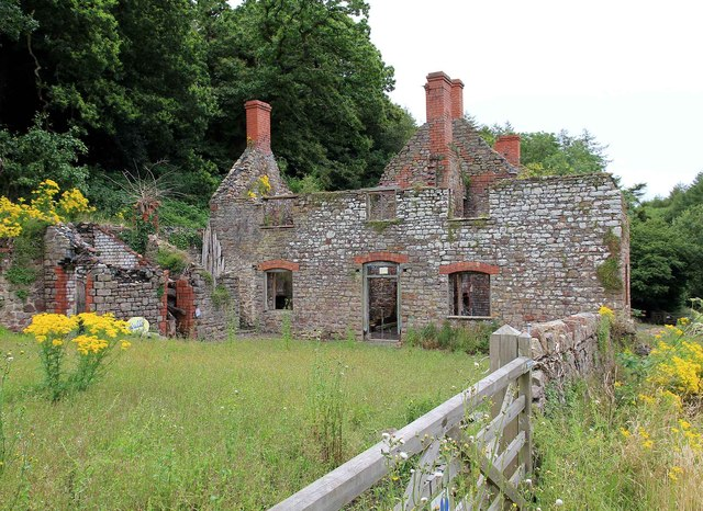 Derelict farmhouse