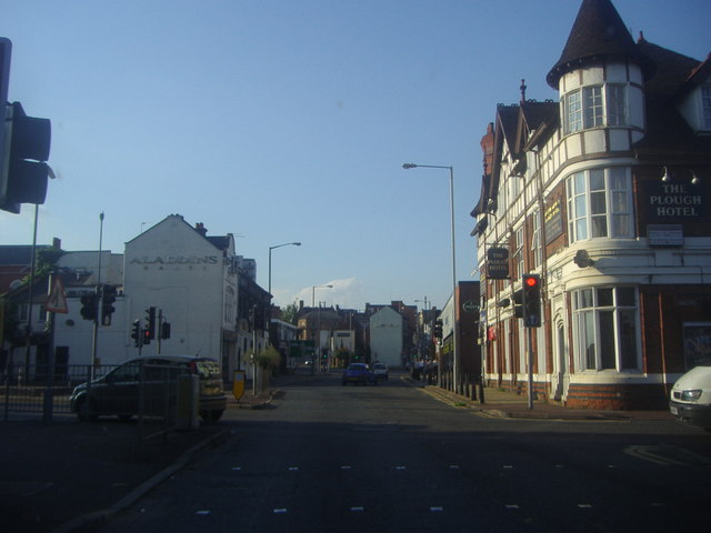Bridge Street at the junction of St Peter's Way
