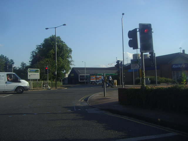 St Peter's Way at the junction of Horseshoe Street